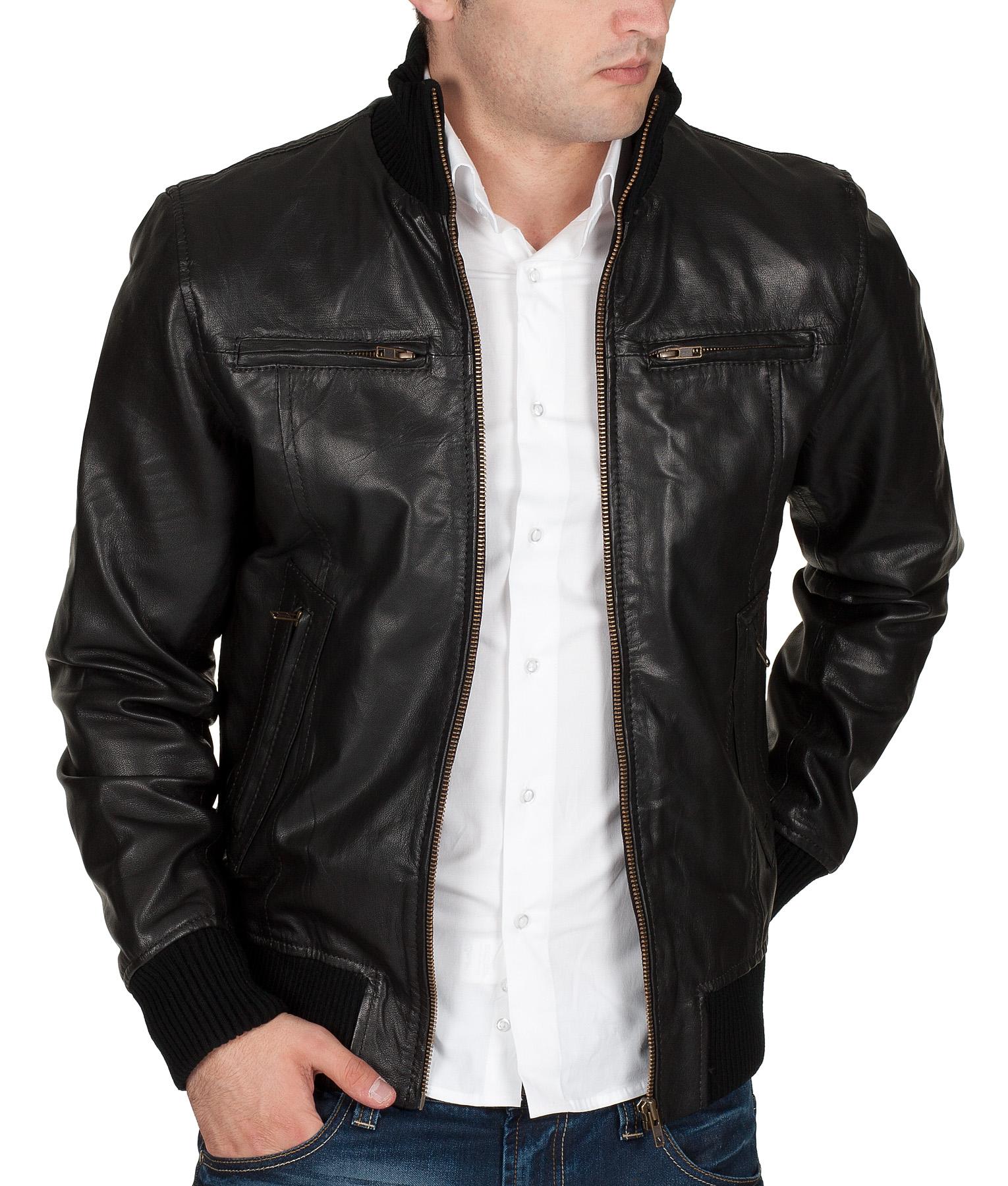 jack jones lederjacke by jack and jones jeans 2012 star. Black Bedroom Furniture Sets. Home Design Ideas
