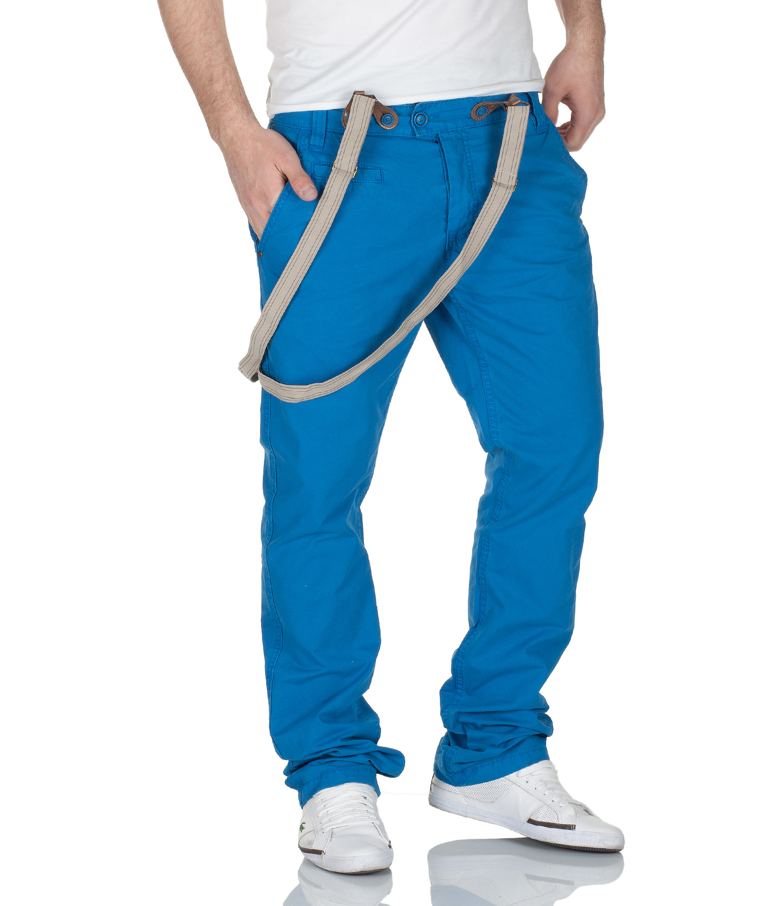 urban surface herren chino hose mit hosentr ger by eight2nine jeans mod 3576 d g ebay. Black Bedroom Furniture Sets. Home Design Ideas
