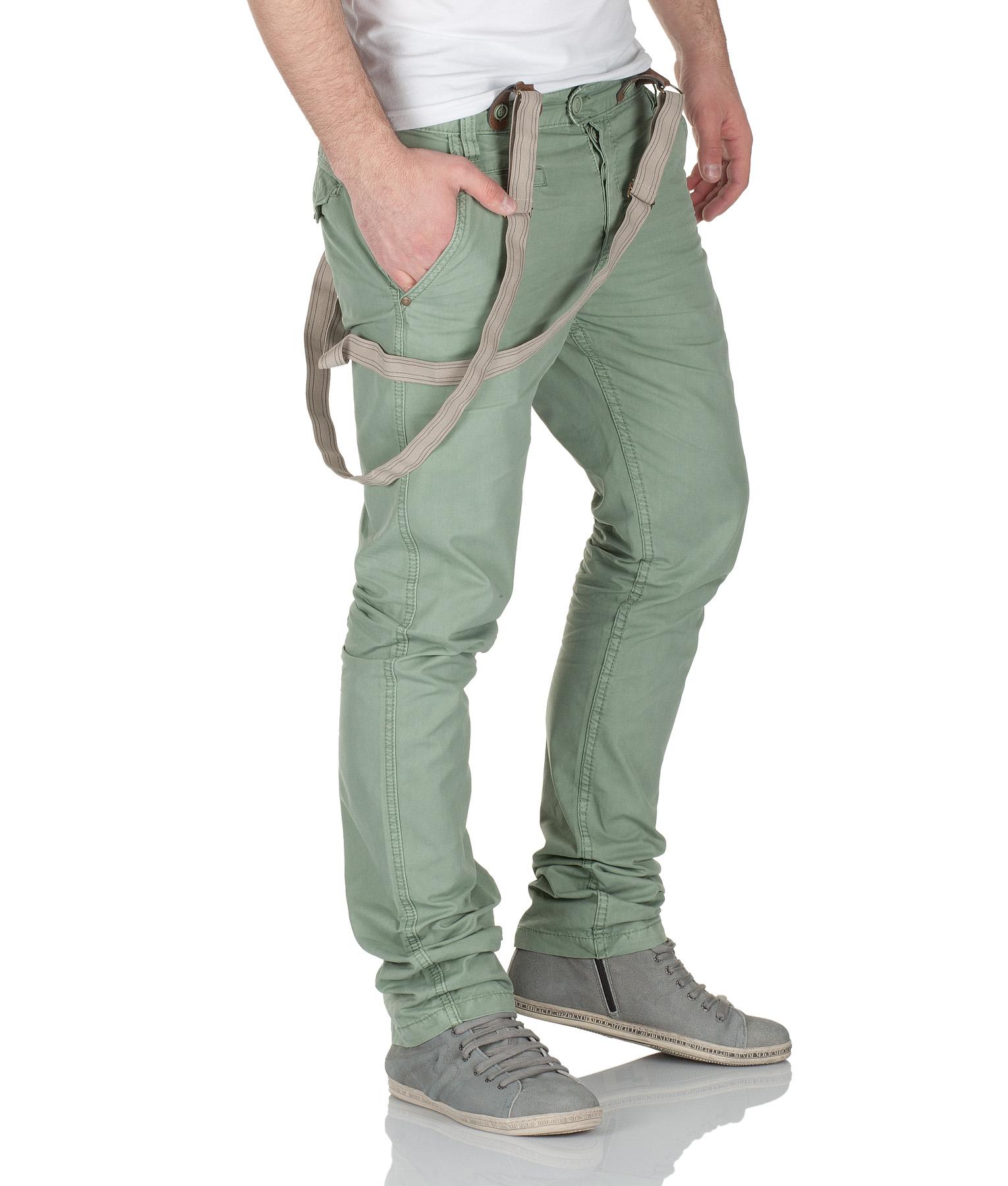 urban surface herren chino hose mit hosentr ger by eight2nine jeans mod 3578 d g ebay. Black Bedroom Furniture Sets. Home Design Ideas