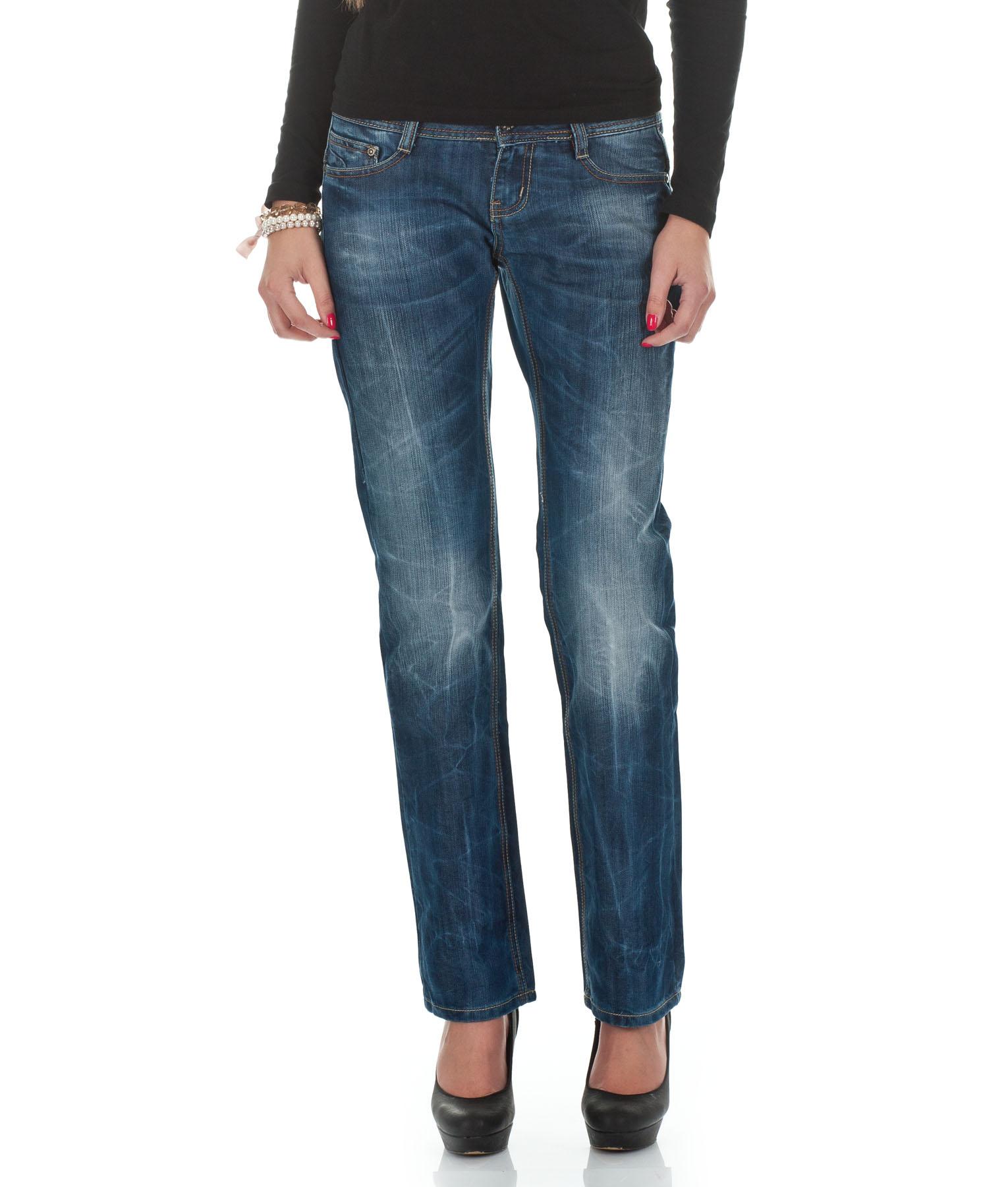 m o d jeans damen hose monopol 2012 star mod 4467 blau d g ebay. Black Bedroom Furniture Sets. Home Design Ideas