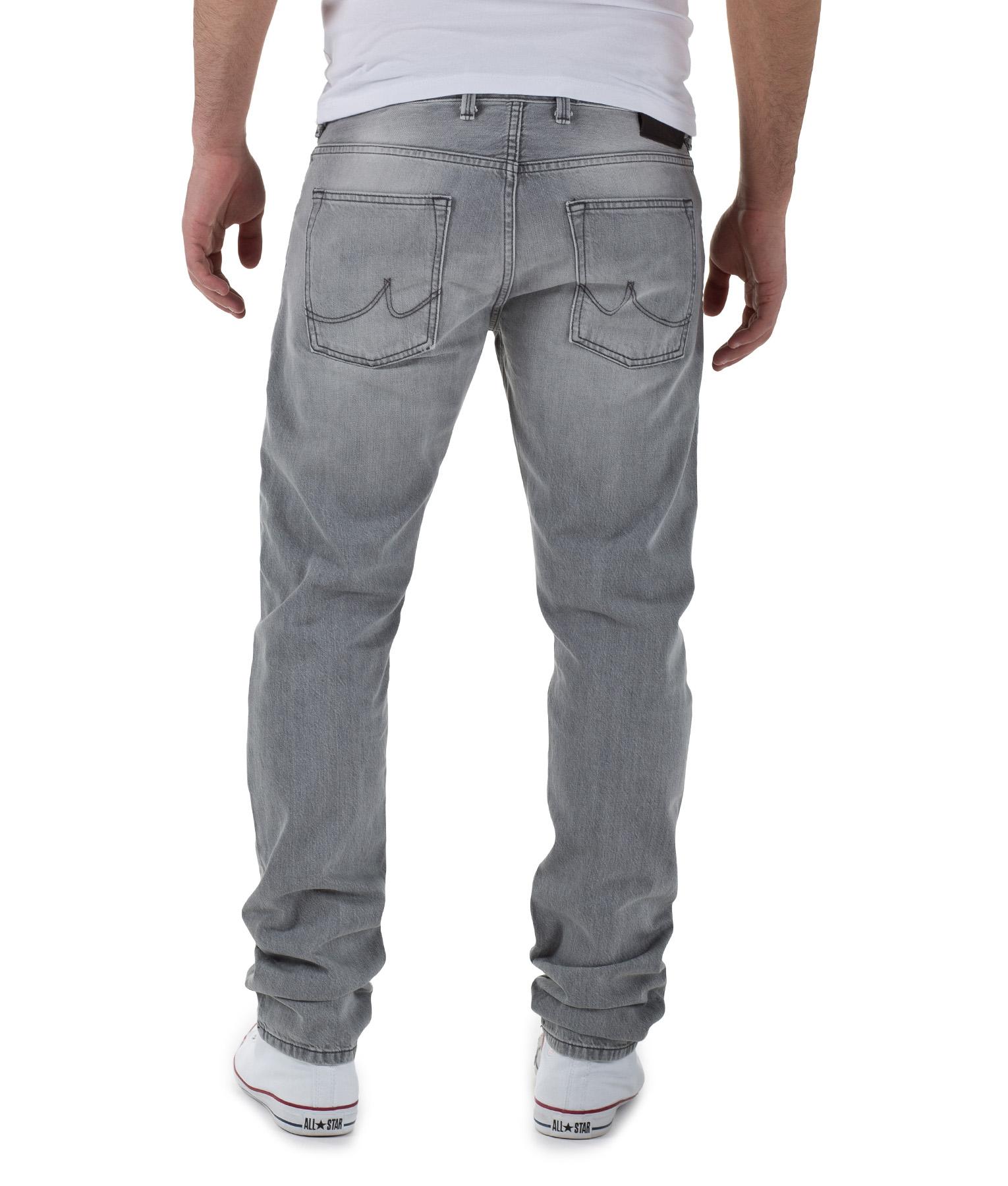 Graue jeans hose herren